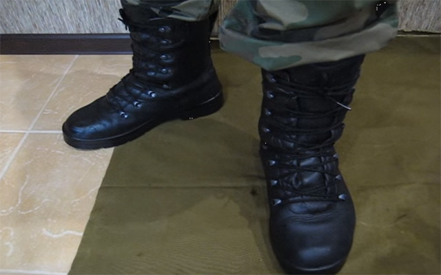 Обувь для охоты. Берцы бундесвер