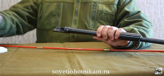 Как чистить ствол ружья