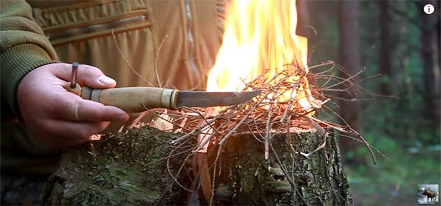 Как развести огонь без спичек