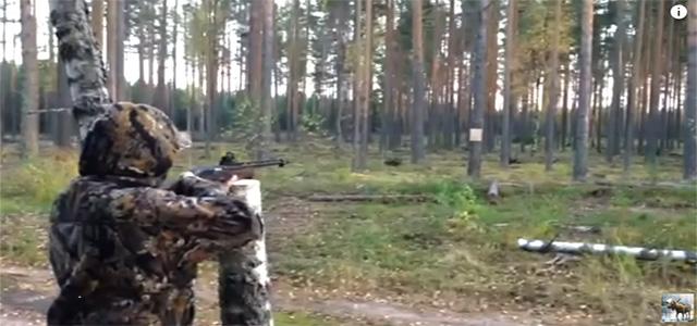 Девушка стреляет из ружья. Пуля Бреннеке