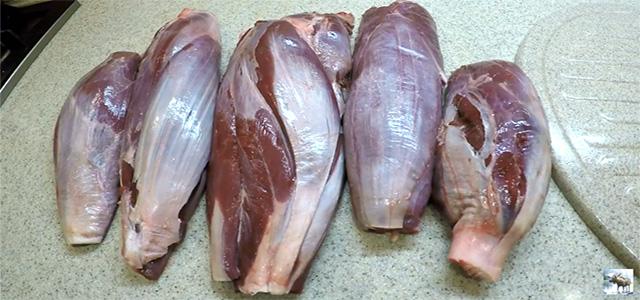 Как приготовить мясо и мышцы лося