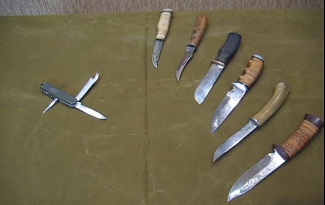 Складной нож для охоты