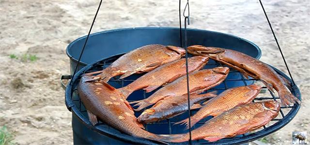 Горячее копчение рыбы. Простой способ
