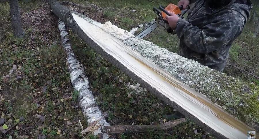 Как сделать простой солонец для лося